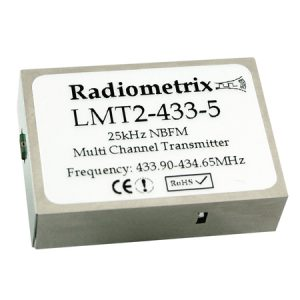 LMT2-433-5: Radiometrix Low Cost Multi Channel TX Module
