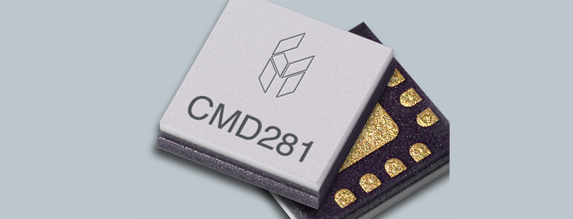 CMD281C3 RF Variable Attenuator by Custom MMIC