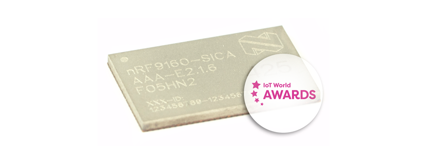nRF9160 cellular IoT module shortlisted for 2019 Award