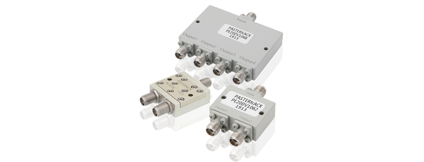 Pasternack Debuts New High Frequency Power Dividers that Deliver Low Insertion Loss and are Available with Same-Day Shipping