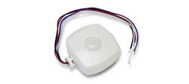 Bluetooth LE passive infrared sensor relays control commands in industrial lighting applications