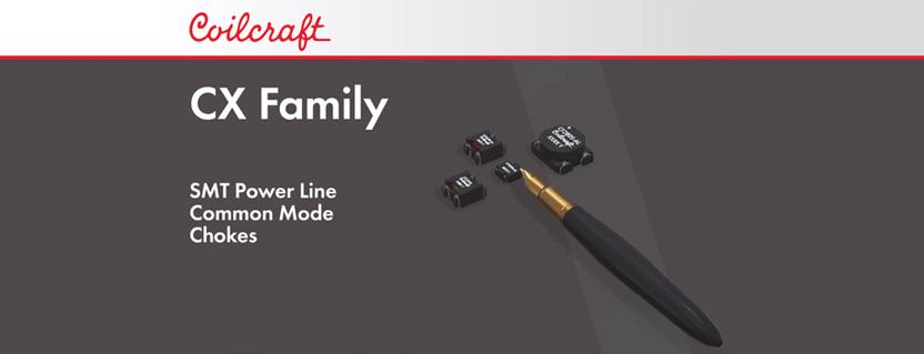 Coilcraft Cx Family Common Mode Chokes