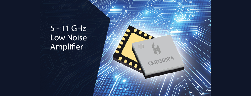 Custom MMIC Expands Low Noise Amplifier MMIC Portfolio