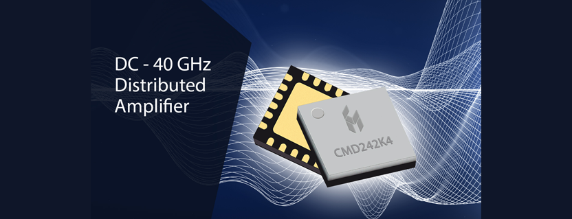 Custom MMIC Extends Packaging to Ka-Band with GaAs Low Noise and Distributed Amplifiers