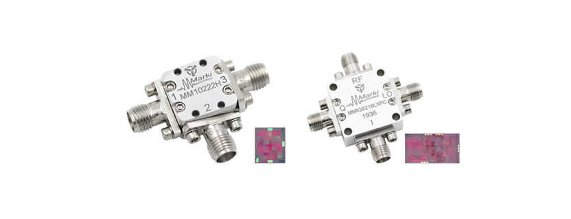 New Ultra-Wide 2-22GHz Mixer and 2-18GHz IQ Mixer
