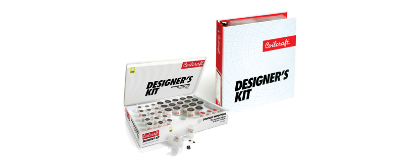 Three New Coilcraft Designer's Kits are Available