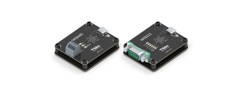 Tibbo Releases Web232 and Web485 WebUSB Boards