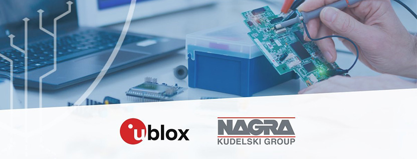 u-blox expands partnership with Kudelski Group to offer IoT security design and evaluation services