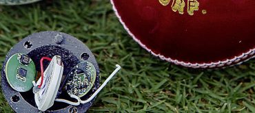 Bluetooth 5/Bluetooth LE sensor device enables smart cricket ball to track and deliver speed and movement data
