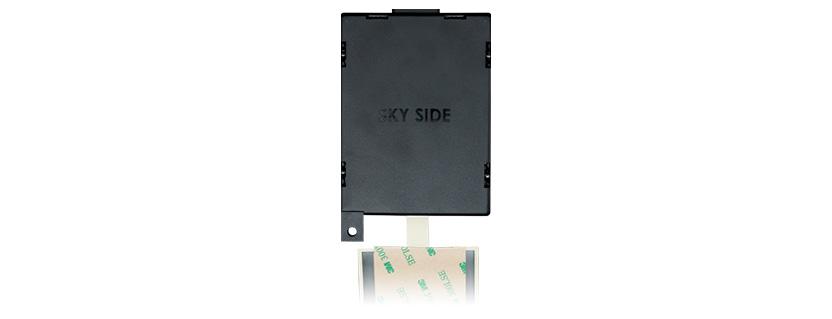 Taoglas MA2330 Covert GPS, Wi-Fi & AM/FM 3in1 Headliner Adhesive Antenna