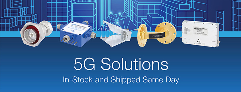 Pasternack Announces Comprehensive 5G Solution Portfolio