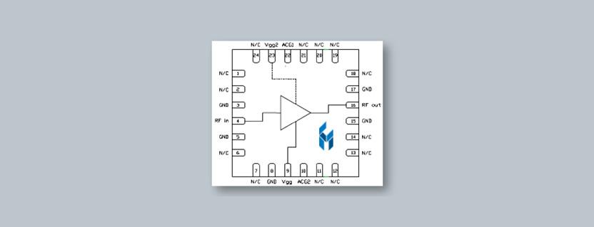 Custom MMIC CMD284P4