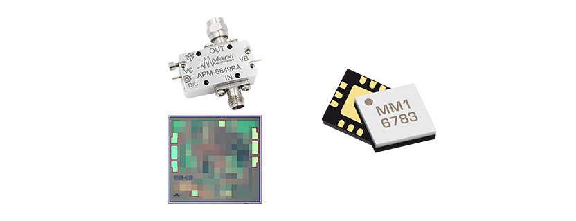 New Releases: Lowest Phase Noise Amplifier and 2-22GHz SMT Mixer