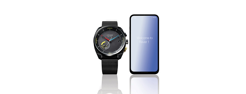 Citizen Watch Co. solar-powered Bluetooth LE watch offers customized functionality to suit user's lifestyle and interests