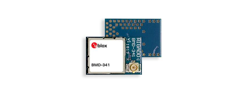 BMD-341 RF Module by u-blox AG