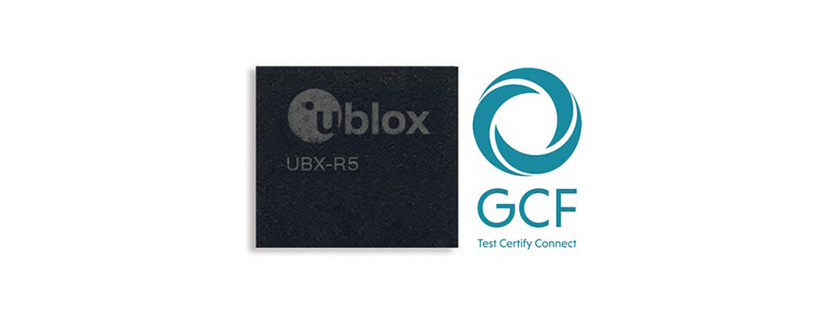 u-blox UBX-R5 becomes first IoT chipset certified by GCF