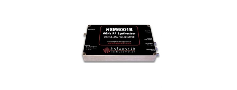 HSM6001B Frequency Synthesizer by Holzworth Instrumentation