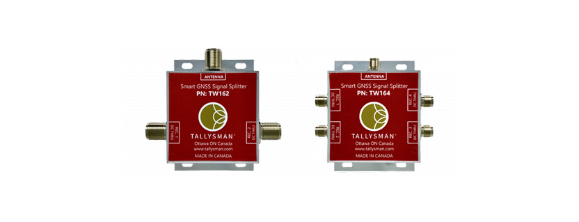 Tallysman® Introduces the TW162 and TW164 Smart Power GNSS Signal Splitters