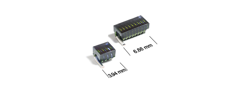 Coilcraft Miniature Air Core Inductors Offer High Q and a Wide Range of Standard EIA Inductance Values