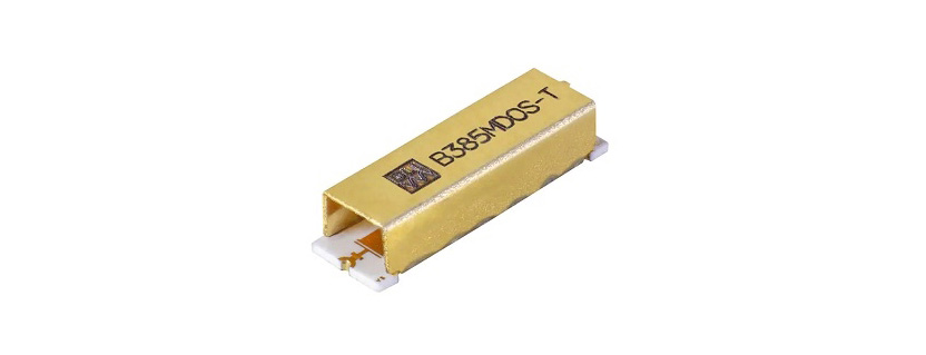 B385MD0S Band Pass Filter by Knowles