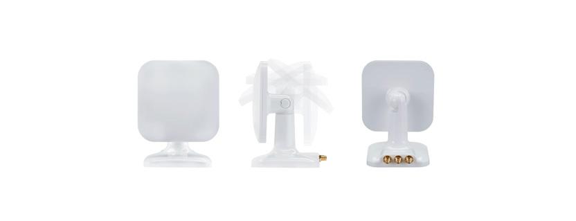 Taoglas Pivot WMA.328.A.001 2.4/5.8GHz x3 MIMO Wi-Fi MIMO Desk/Magnet Mount External Antenna