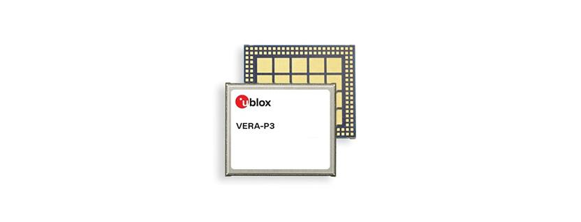 VERA-P3 series V2X Module by u-blox AG
