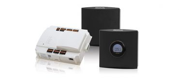 High reliability mesh network buildings automation platform supports up to 100 battery-powered wireless nodes per gateway