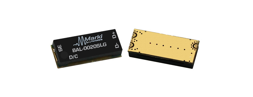 Marki Microwave New Small formfactor 10MHz to 20GHz Balun with Exceptional Phase Balance