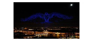 Record-breaking drone show enabled by u blox positioning technology