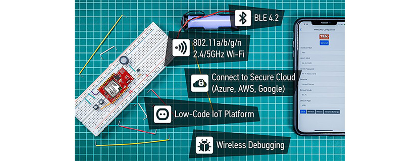 Reach for the Cloud With Tibbo's New Wi-Fi/BLE Industrial IoT Module!