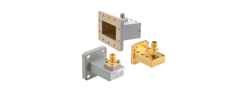Pasternack Releases New Flange-Style Waveguide-to-Coax Adapters