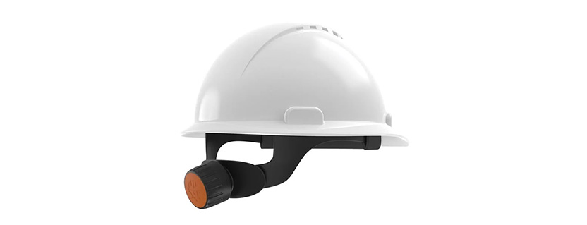 Wirepas Mesh hard hat sensor locates wearer across large sites and reports activity/incidents