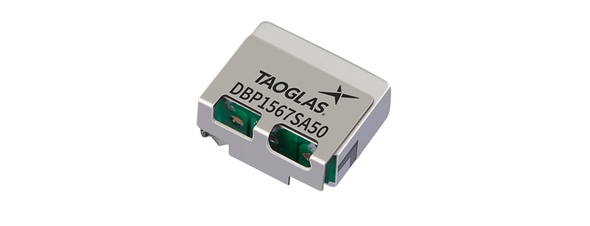 Taoglas Airvu Series Dielectric Band Pass Filter for GPS/GLONASS/BeiDou applications