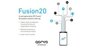 Qorvo® Accelerates 5G Smartphone Design with RF Fusion20™