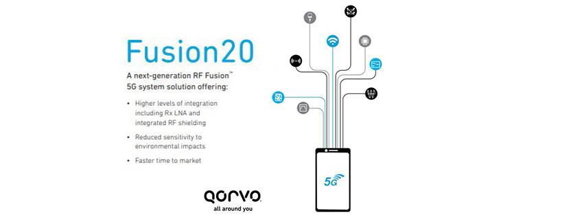 Qorvo® Accelerates 5G Smartphone Design with RF Fusion20™