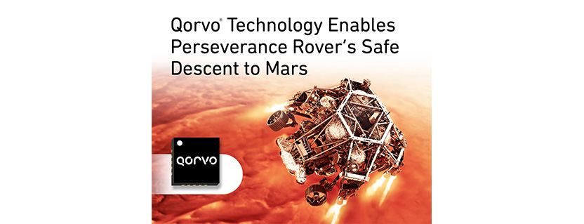 Qorvo® Technology Enables Perseverance Rover's Safe Descent to Mars