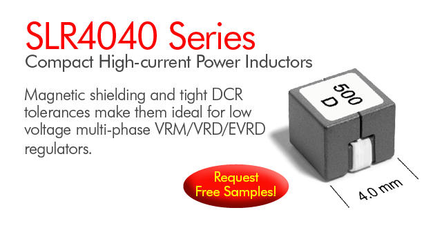 SLR4040 Series High Current Shielded Power Inductors