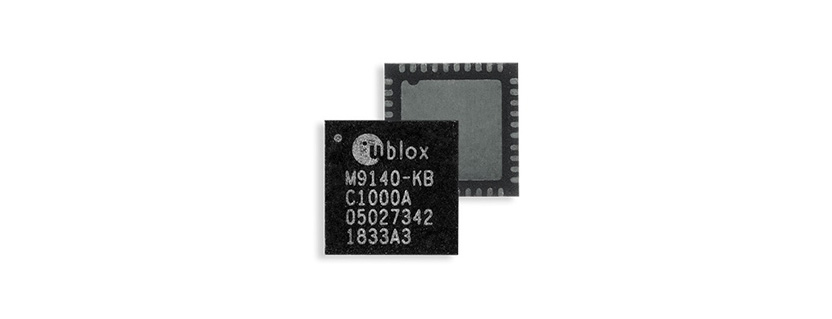 UBX-M9140 GNSS System on Chip by u-blox AG