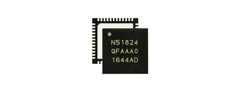 nRF51824 Wireless SoCbyNordic Semiconductor