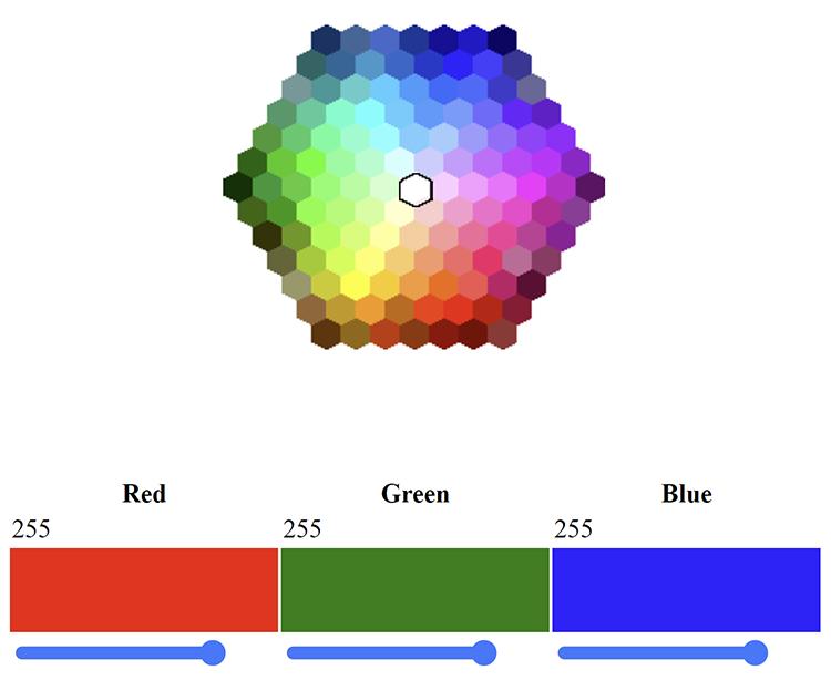 WebPWM — RGB LED Control Demo for the WM2000EV Kit