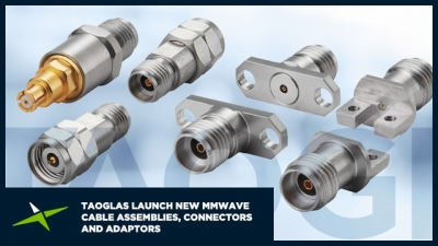 Taoglas Continues to Trailblaze in mmWave Technology Introducing a new, Innovative Range of High-frequency mmWave Cable Assemblies, Connectors and Adaptors