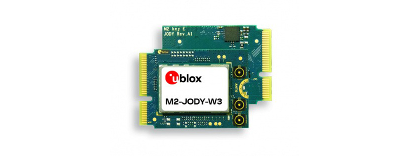 M.2 cards bring u‑blox wireless connectivity options to NXP evaluation boards