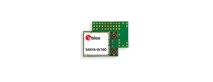 MAYA-W1 series RF Module by u-blox AG