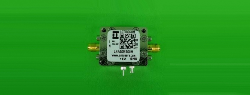 LNA50M500M RF Amplifier by Lotus Communication Systems