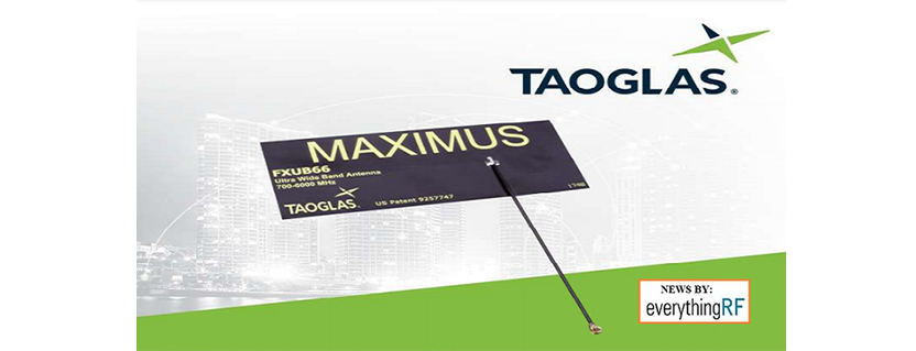 Taoglas Introduces Flexible PCB Antenna for IoT/GNSS/Cellular Applications from 600 to 6000 MHz