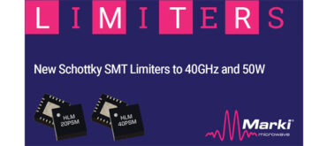 Marki Microwave New Schottky SMT Limiters to 40GHz and 50W