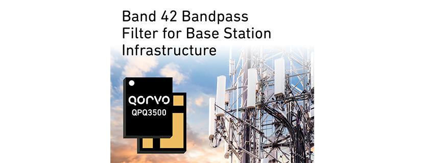 Qorvo® Expands BAW Filter Portfolio to Support Global 5G Base Station Deployments